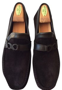 Bruno Magli mens size 9.5 Black Flats