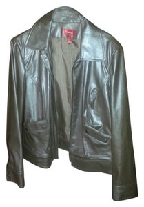 la'Tina mink color leather Jacket
