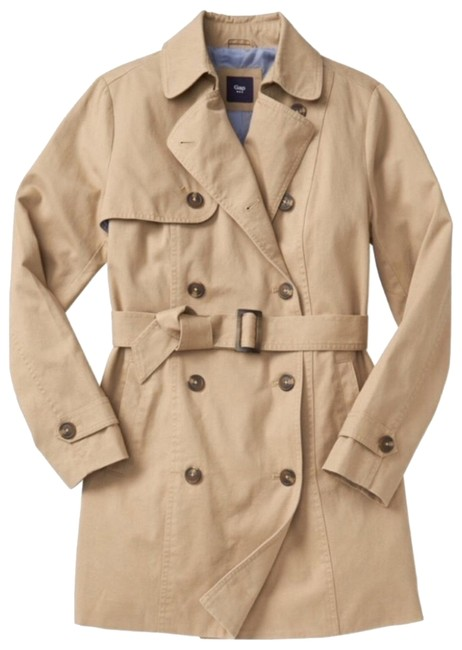 gap classic trench coat review
