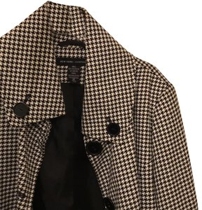 New York & Company checkered pattern in black and white Jacket