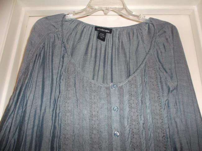 Lane Bryant Top light blue