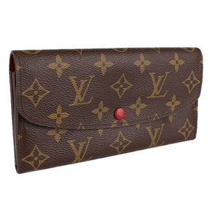Louis Vuitton Auth LV Monogram Wallet