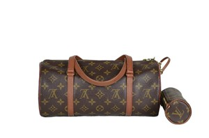LOUIS VUITTON Lv Papillon Monogram Shoulder Bag