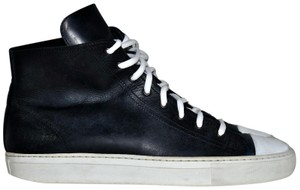 Common Projects Tournament High High Top Sneakers Mens 9 Black Athletic