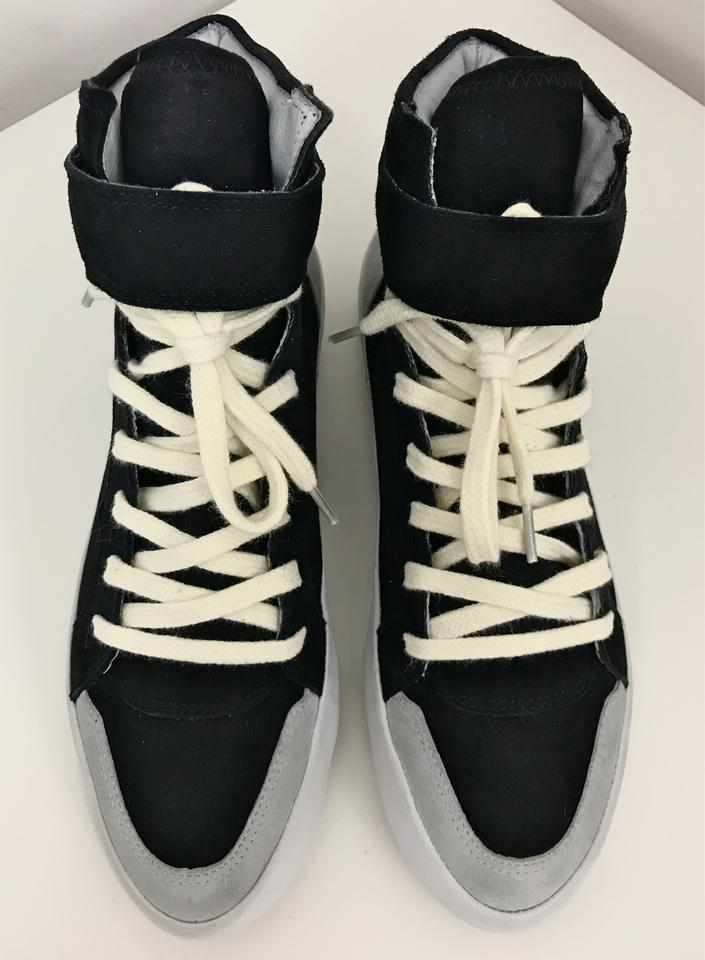 Suede Top Bessy Sneakers Leather Etoile Isabel Marant Sneakers High Black 0xqZzpwXO