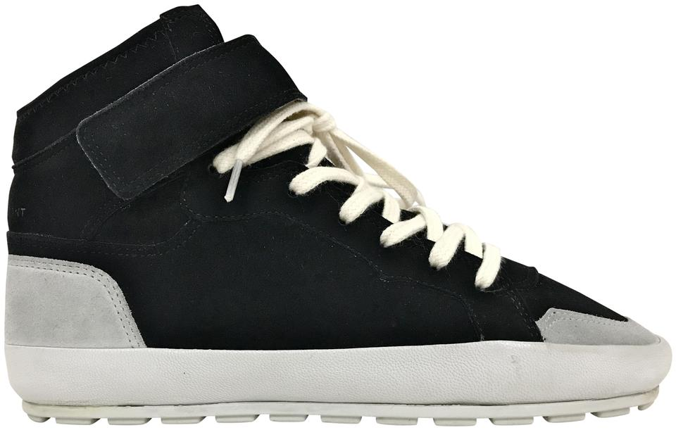 Suede Top High Black Marant Sneakers Bessy Leather Isabel Etoile Sneakers 0XIw77
