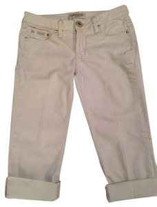 Squeeze Jeans Capri/Cropped Denim-Light Wash