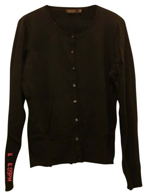 Preload https://item5.tradesy.com/images/the-limited-black-button-front-sweater-cotton-nylon-and-spandex-cardigan-size-16-xl-plus-0x-2248324-0-0.jpg?width=400&height=650