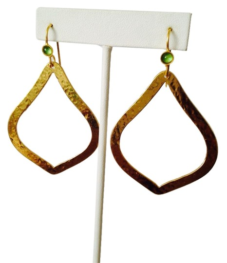 Preload https://item1.tradesy.com/images/panacea-cache-goldgreen-nwot-peridot-cabochon-in-hammered-14kt-gold-plate-dangle-earrings-2248330-0-0.jpg?width=440&height=440