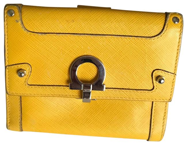 Item - Yellow Saffiano Wallet