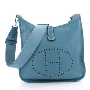Herms Leather Cross Body Bag