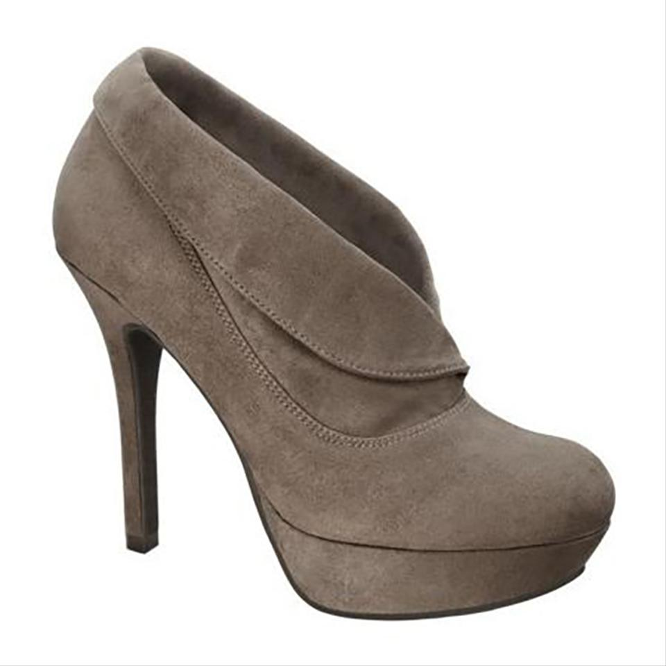 Mossimo Supply Co. Taupe Vira Boots/Booties Boots/Booties Vira ba5bcb