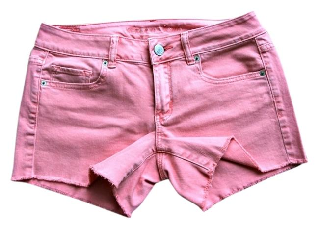 American Eagle Outfitters Cut Off Shorts Peach
