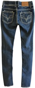 Vigoss Sexy Casual Distressed Thick Stitching Chic Skinny Jeans