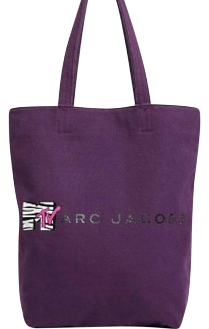Item - Mtv Retro Purple Canvas Tote