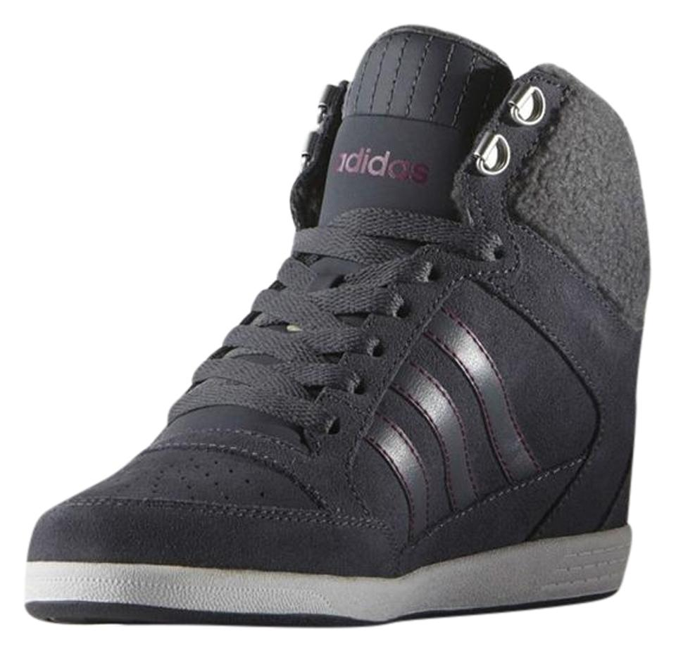 the best attitude 366d5 27fad adidas Grey Super Wedge Sneakers