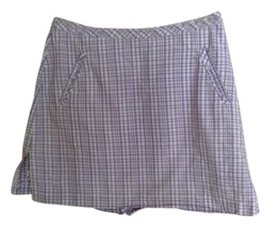 Ashworth Mini Skirt Lavender and white