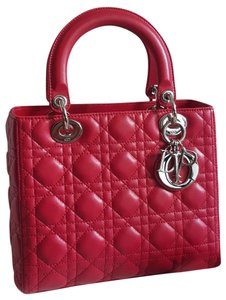 Dior Tote in Raspberry Pink