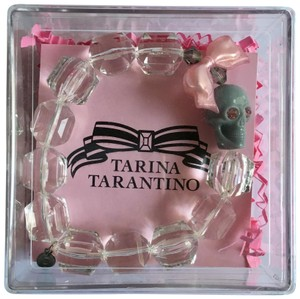 Tarina Tarantino beaded skull and swarovski crystals