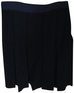 Brooks Brothers Wool Small Skirt Navy Blue