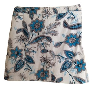 EP Pro Mini Skirt White/Blue/Black