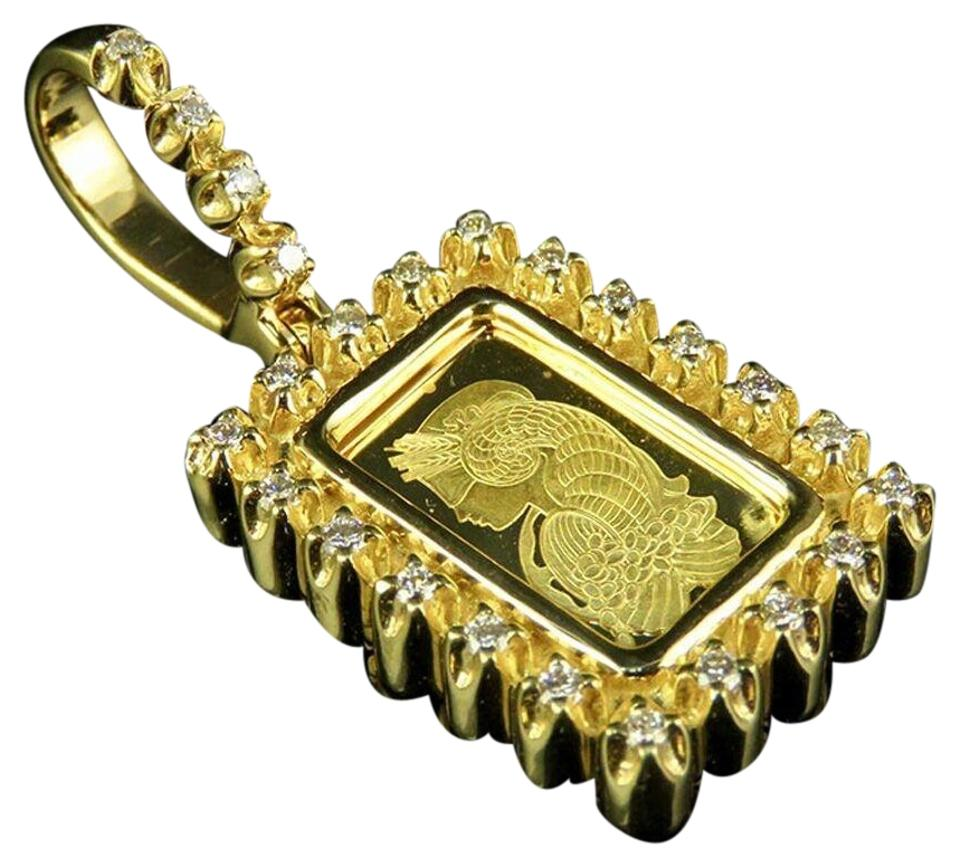 Jewelry unlimited 10k yellow gold lady fortuna 1gram bar genuine jewelry unlimited 24k yellow gold lady fortuna 1gram bar genuine diamond pendant 12 ct aloadofball Images