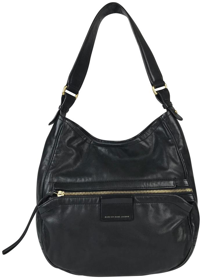9461f79312e8 Marc by Marc Jacobs Black Leather Hobo Bag - Tradesy