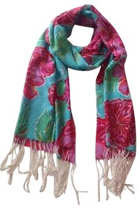 Lilly Pulitzer Lilly Pulitzer silk cashmere Murfee Scarf Wrap rare print