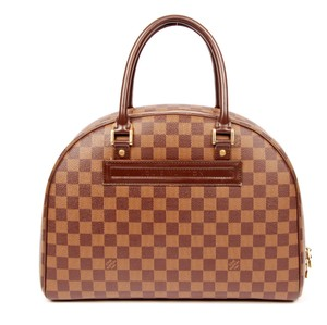 Louis Vuitton Canvas Totes Classic Satchel in Damier Ebene
