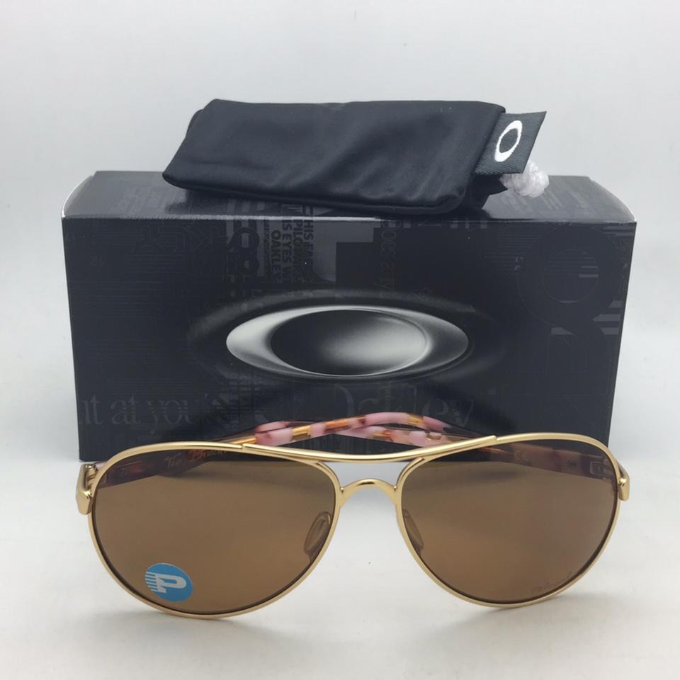 088beecbfe Oakley Polarized OAKLEY Sunglasses TIE BREAKER OO4108-03 Gold   Brown  Aviator Image 11. 123456789101112