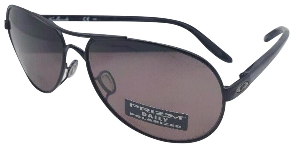 3c6b907f8b Oakley Polarized OAKLEY Sunglasses FEEDBACK OO4079-27 Black Aviator w  PRIZM  Image 0 ...