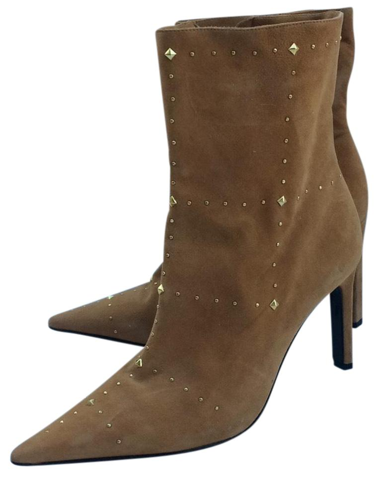 33a5a21af0c Casadei Nude  Tan Stiletto Boots Booties. Size  US 7.5 Regular (M ...