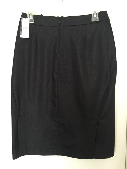 New York & Company Business Professional Skirt Black