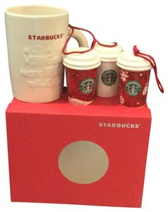 Starbucks Starbucks collectible ornaments & mug
