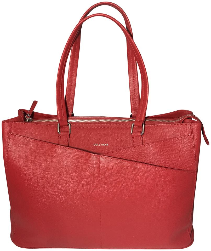6cd1856759c Cole Haan Rare Travel Large Carry-on American Airlines Tote in Red Image 0  ...