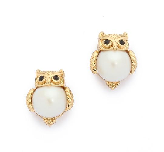 kate spade clip on earrings kate spade gold into the woods owl clip 14k earrings 1023