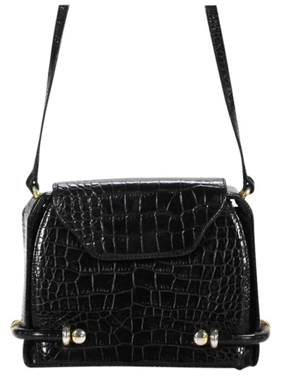 Preload https://img-static.tradesy.com/item/22486656/bally-vintage-black-leather-crocodile-embossed-leather-smooth-and-cross-body-bag-0-1-540-540.jpg