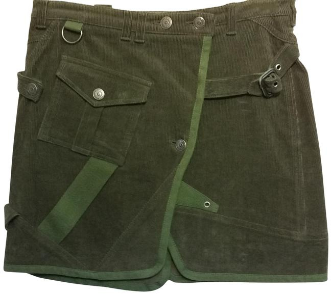 Item - Forest Green Deep Wrap Skirt Size 4 (S, 27)