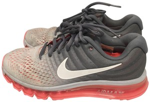 Nike coral pink grey white Athletic