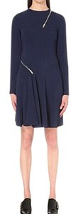 Stella McCartney short dress Orion Blue on Tradesy