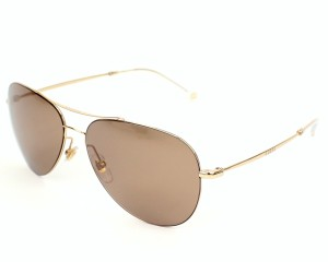 Gucci NEW Gucci GG2245/S Gold Mirrored Aviator Sunglasses