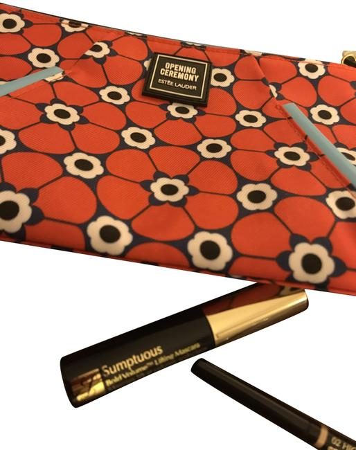 Item - Red/Navy And Bundle Gift Set Cosmetic Bag
