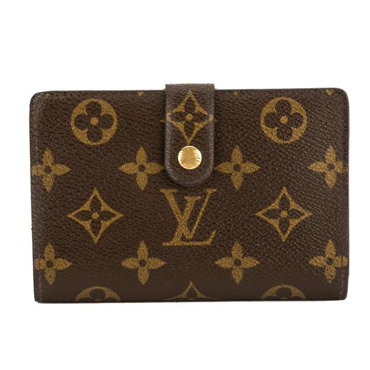 louis vuitton monogram canvas porte monnaie viennois wallet pre owned tradesy. Black Bedroom Furniture Sets. Home Design Ideas
