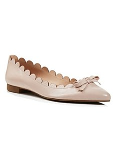 Kate Spade Bow Pale Pink Flats