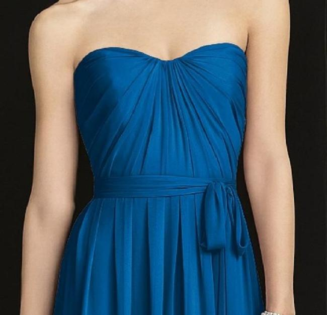 After Six Strapless Full Length Dress Image 1
