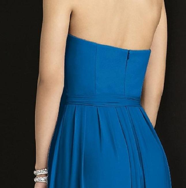 After Six Strapless Full Length Dress Image 2