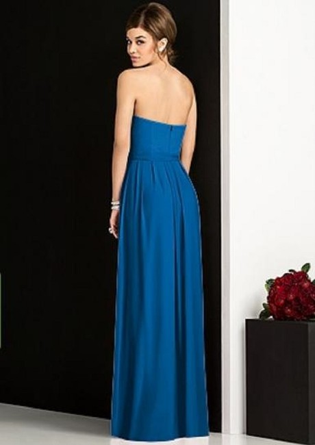 After Six Strapless Full Length Dress Image 3