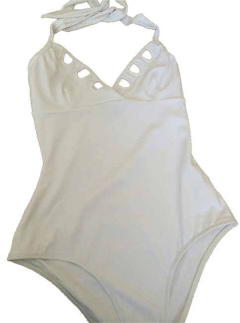 moulle one piece white swimsuite