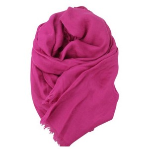 Gucci Gucci women's pink embossed GG scarf