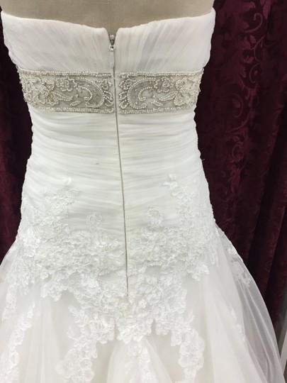 Enzoani Ivory Lace / Tulle Edson New Formal Dress Size 12 (L)